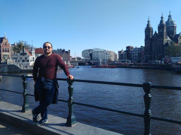 KTU nuotr./KTU absolventas Kamoliddinas Mirzoevas Kopenhagoje