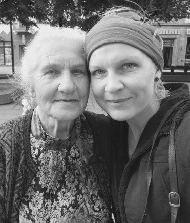Asmeninio archyvo nuotr./Birutė Širvienė ir Evelina Taunytė