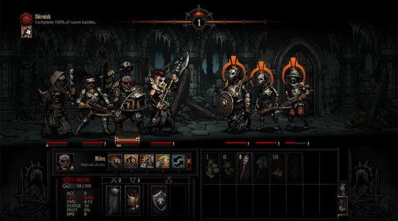 """Žaidimas """"Darkest Dungeon"""""""