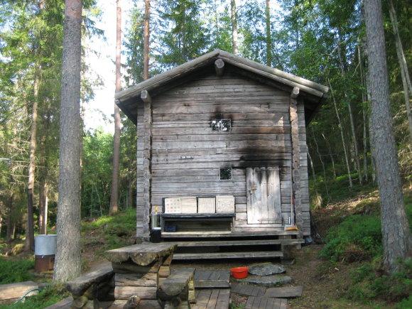 Risto Elomaa nuotr. / Dūminė sauna