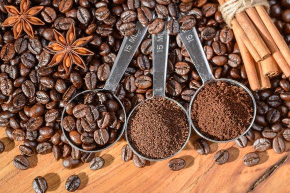 123rf.com nuotr. / Pupelės ir malta kava