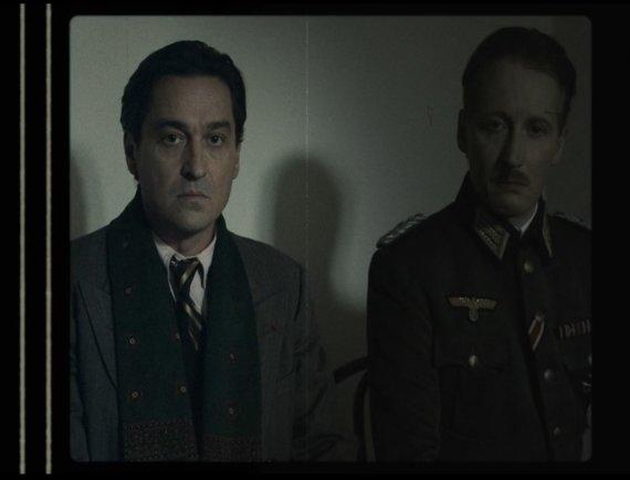 """Jaujard'as ir Metternichas / kadras iš filmo """"Frankofonija"""""""