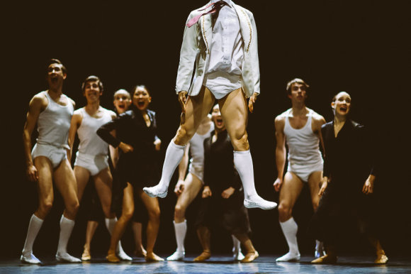 """Rahi Rezvani nuotr./""""Nyderlandų šokio teatro 2"""" spektaklis  SH-BOOM!"""