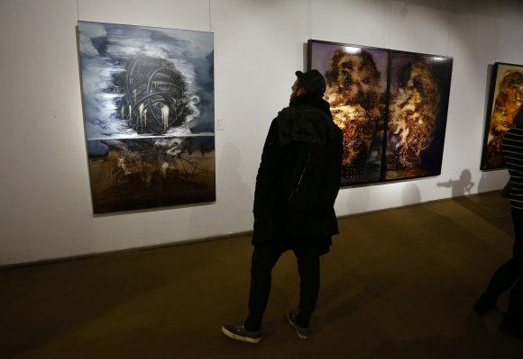 """Aliaus Koroliovo/15min nuotr./Tarptautinė paroda """"Šiuolaikinis prancūzų ekspresionizmas ir ne tik"""""""