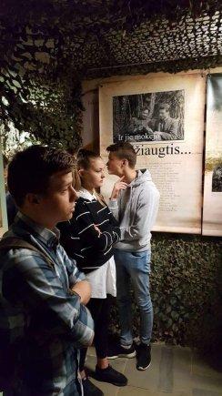 Projekto partnerio nuotr./Istorinės edukacijos centre