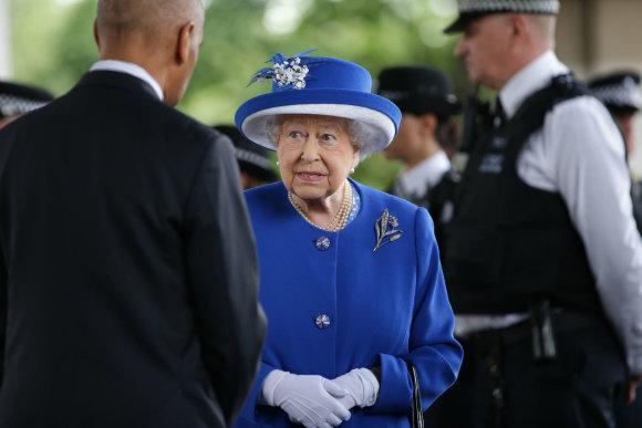"""AFP/""""Scanpix"""" nuotr./Karalienė Elizabeth II"""