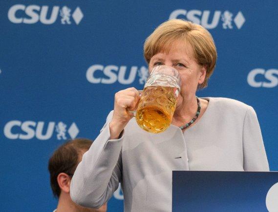 dpa/Angela Merkel Miunchene