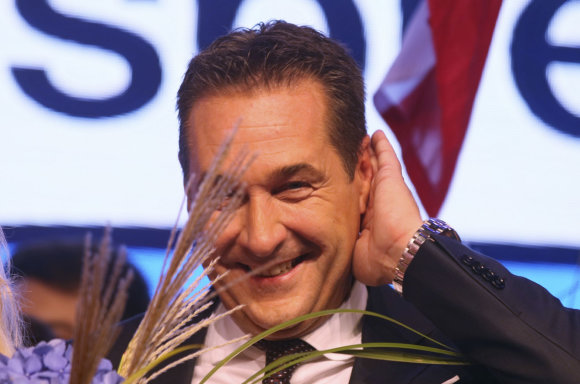 """Scanpix""/AP nuotr./Heinzas-Christianas Strache'as"