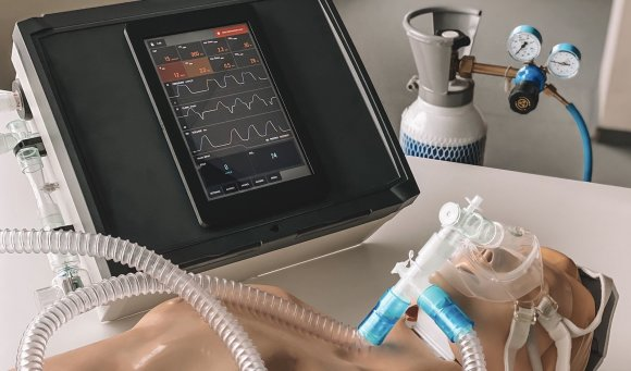 """Įmonės nuotr./""""Teltonika"""" sukurta plaučių ventiliavimo įranga"""