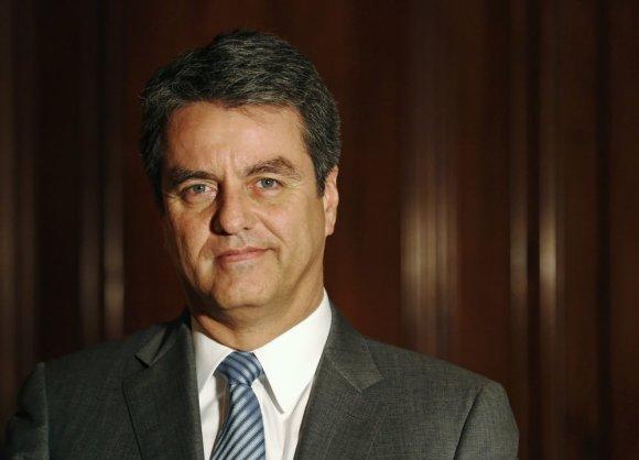 """""""Reuters""""/""""Scanpix"""" nuotr./Pasaulio prekybos organizacijos (PPO) vadovas brazilas Roberto Azevedo"""