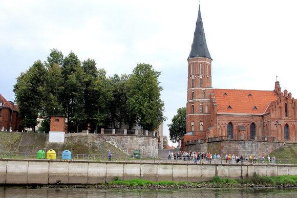 Evaldo Šemioto nuotr./Kaunas žvelgiant iš laivo