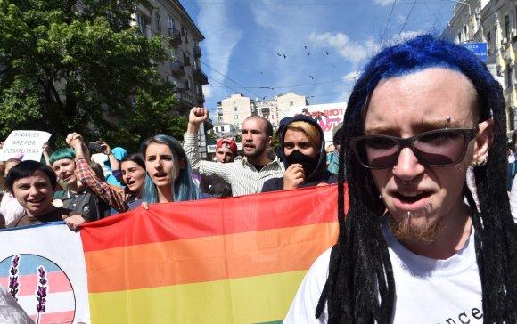 "AFP/""Scanpix"" nuotr./LGBT eitynės"