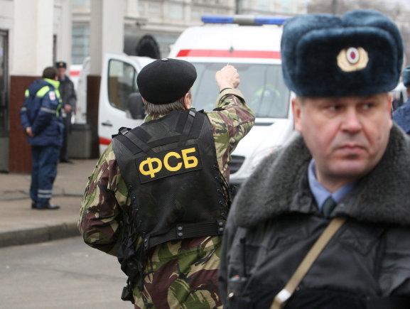 """""""Reuters""""/""""Scanpix"""" nuotr./Rusijos federalinės saugumo tarnybos (FSB) pareigūnas"""