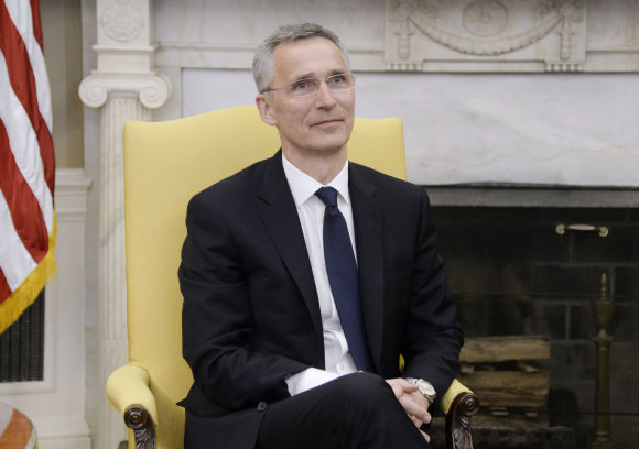 """Scanpix""/""Sipa USA"" nuotr./NATO generalinis sekretorius Jensas Stoltenbergas"