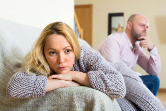 Shutterstock nuotr./Vyras ir žmona.