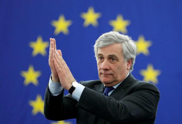 """""""Reuters""""/""""Scanpix"""" nuotr./Antonio Tajani"""