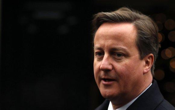"""""""Reuters""""/""""Scanpix"""" nuotr./Davidas Cameronas Šiaurės Airijoje"""