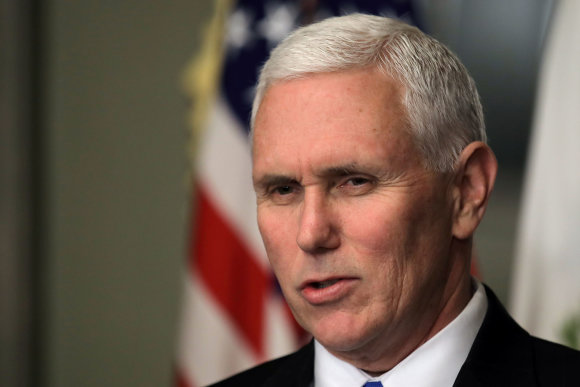"""Reuters""/""Scanpix"" nuotr./Mike'as Pence'as"