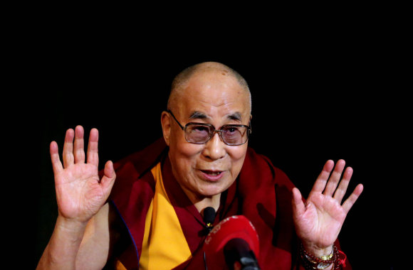 """Scanpix""/""PA Wire""/""Press Association Images"" nuotr./Dalai Lama"