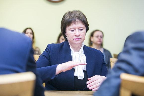 Irmanto Gelūno / 15min nuotr./Virginija Baltraitienė Liberalų sąjūdžio frakcijoje
