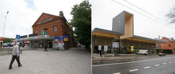Eriko Ovčarenko / 15min nuotr./Kauno autobusų stotis prieš ir po rekonstrukcijos