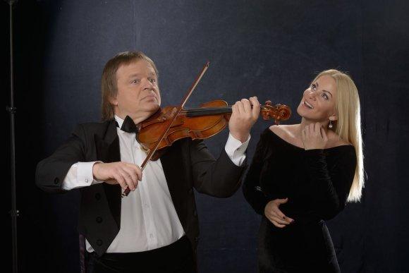Organizatorių nuotr./Vaida Genytė ir Zbignevas Levickis