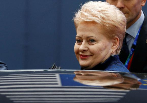 """Reuters""/""Scanpix"" nuotr./Dalia Grybauskaitė"