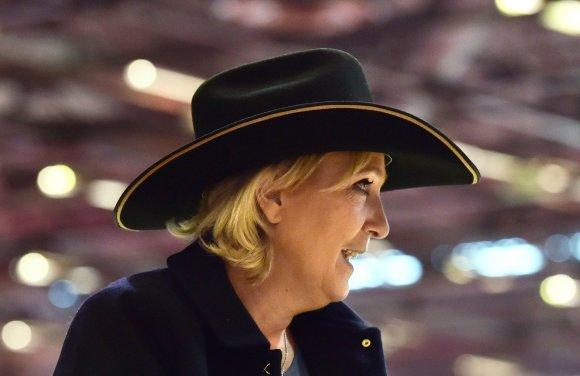 """AFP/""""Scanpix"""" nuotr./Marine Le Pen"""