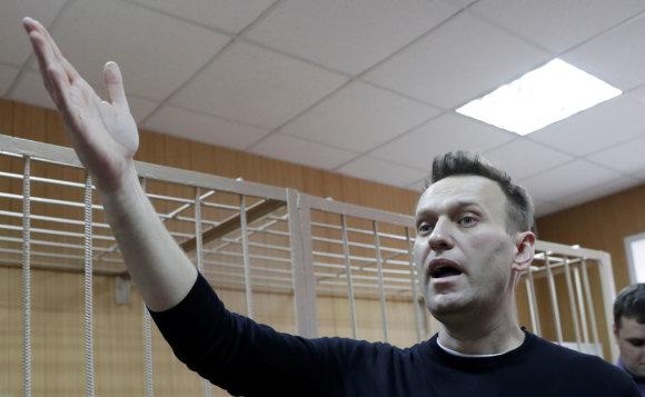 """""""Reuters""""/""""Scanpix"""" nuotr./A.Navalnas kviečia į naujus mitingus"""