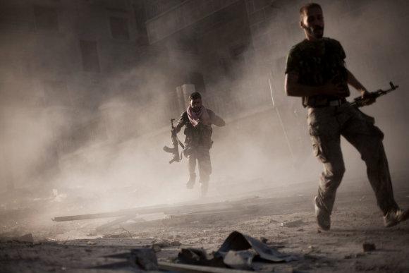 """""""Scanpix""""/AP nuotr./Sirijoje karas jau įžengė į septintuosius metus"""