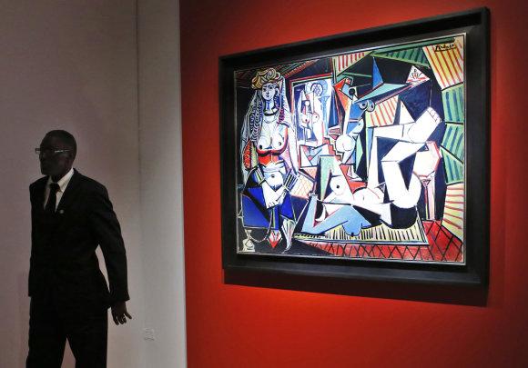 """""""Scanpix""""/AP nuotr./Aukcionas dėl Pablo Picasso paveikslo"""