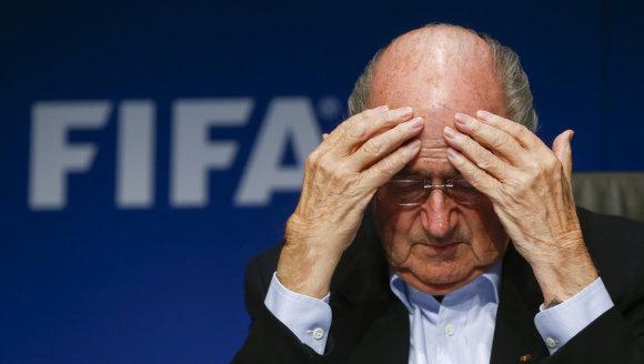 """Reuters""/""Scanpix"" nuotr./FIFA prezidentas Seppas Blatteris"