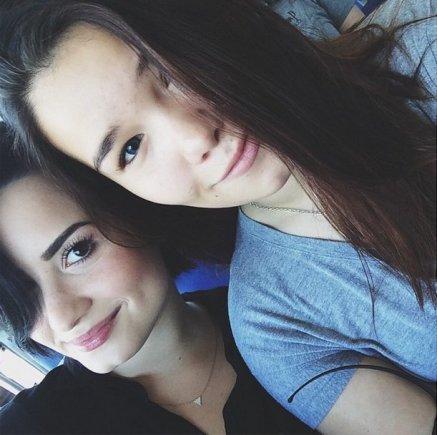 """Instagram"" nuotr./Demi Lovato su seserimi Madison De La Garza"