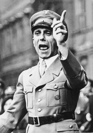 Vokietijos federalinio archyvo nuotr./Josephas Goebbelsas