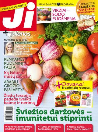 """Redakcijos archyvo nuotr./Žurnalas """"Ji"""" (40 nr.)"""