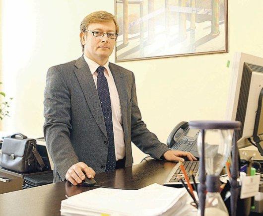LŽ nuotr./VMI viršininkas M.Kaseliauskas