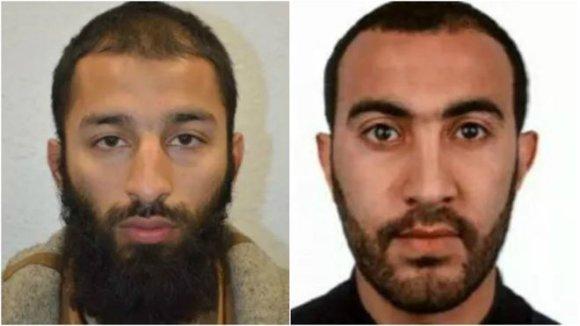 Londono policijos nuotr. /Teroro išpuolio Londone organizatoriai