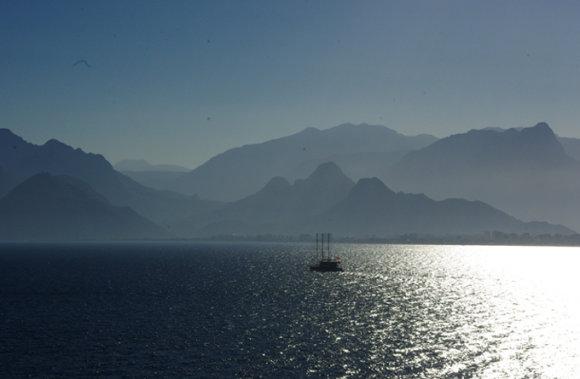 A.Vareikaitės nuotr./Idilė beplaukiant Viduržemio jūra
