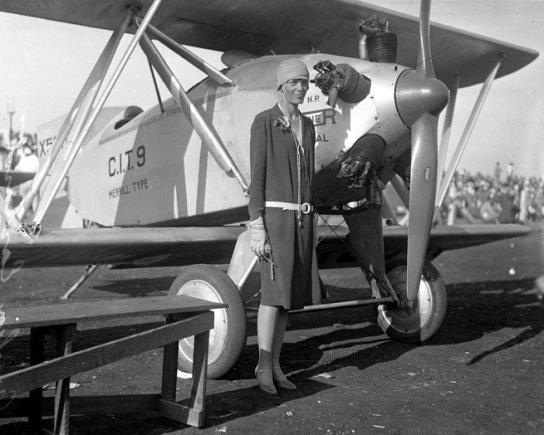 Wikimedia.org nuotr./Amelia Earhart (1928 m.)