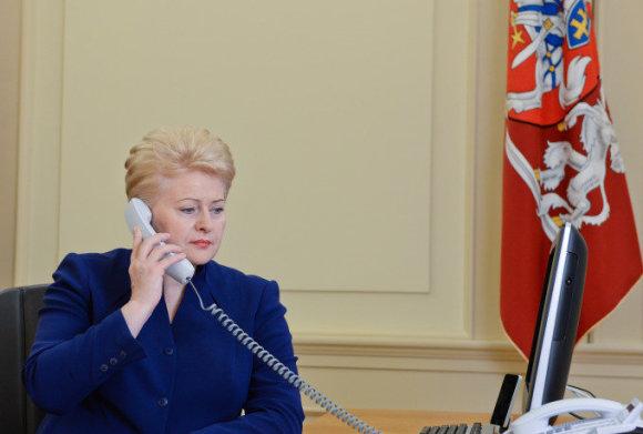 R.Dačkaus nuotr./Dalia Grybauskaitė