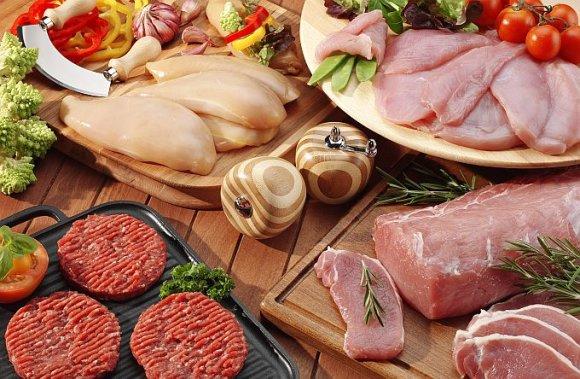 Fotolia nuotr./Įvairi mėsa