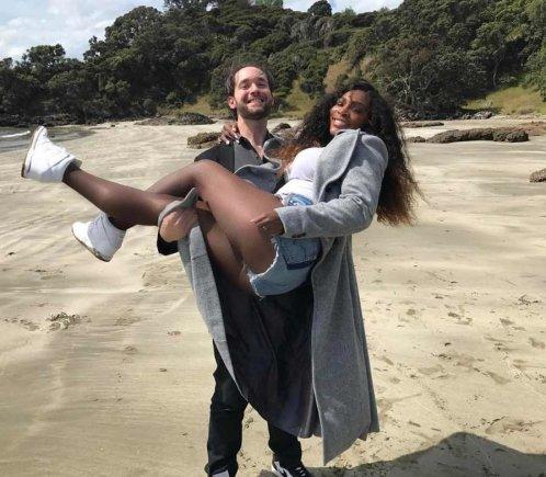 """Instagram"" nuotr./Serena Williams ir Alexis Ohanianas"