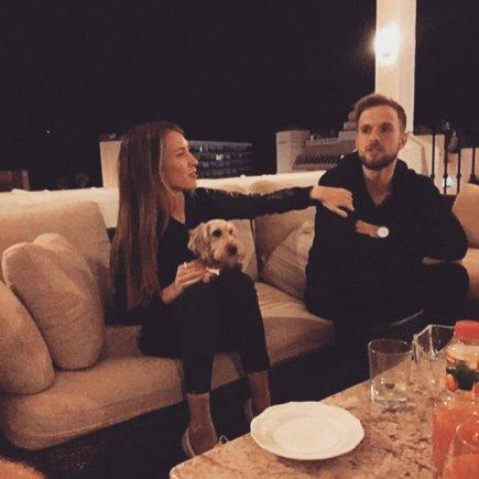 Asmeninio albumo nuotr./Justė Starinskaitė ir Tadas Bulotas