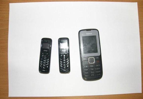 Marijampolės pataisos namų nuotr./Asociatyvi iliustracija: konfiskuoti telefonai