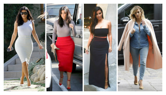 "AOP ir ""Scanpix"" nuotr./Kim Kardashian stilius"