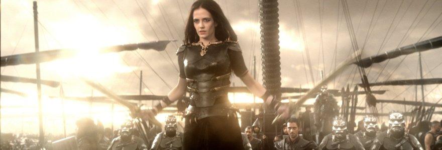 """Karo laivyno vadę filme """"300: imperijos gimimas"""" suvaidinusi Eva Green: """"Mano herojė – tarsi vyras"""""""