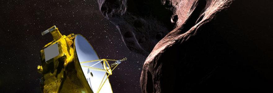"""""""New Horizons"""" sėkmingai perdavė pirmąją informaciją į Žemę"""