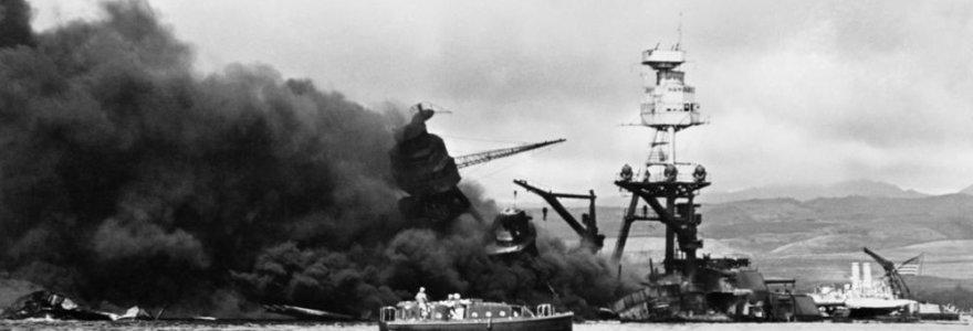 Gruodžio 7-oji: Japonijos karo lėktuvai atakavo Perl Harborą