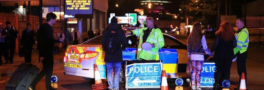 Teroro ataka per Arianos Grande koncertą Mančesteryje: žuvo mažiausiai 19 žmonių, dar apie 50 sužeista