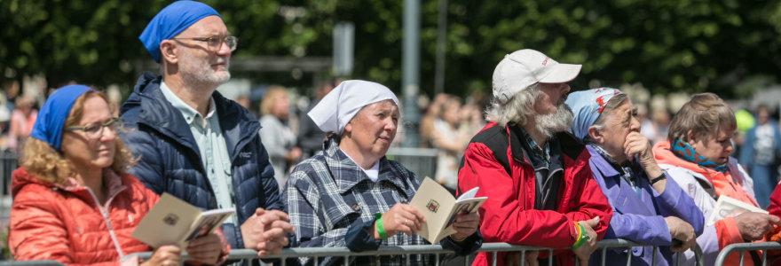 Vilniuje vyksta arkivyskupo ir kankinio Teofiliaus Matulionio beatifikacijos iškilmės